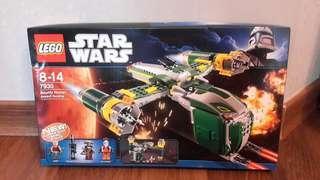 全新樂高 Lego Star Wars 7930 Bounty Hunter Assault Gunship 有壓紋 凹