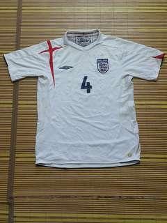 Jersey jersi England 2005