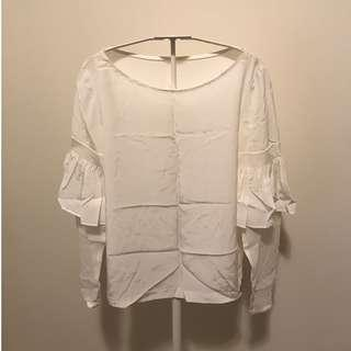 CLUB MONACO BLOUSE - SIZE SMALL