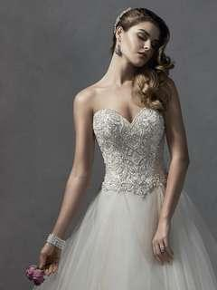 Sottero and Midgley Wedding Dress- Chandra — Size 12