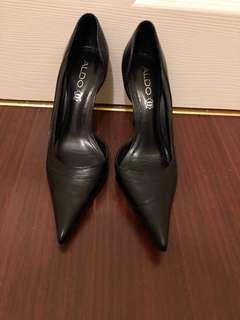 ALDO black pointed heels