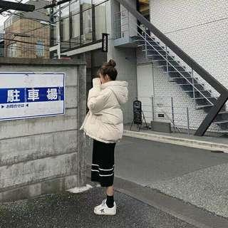 🚚 2018冬季新款韩版連帽面包服
