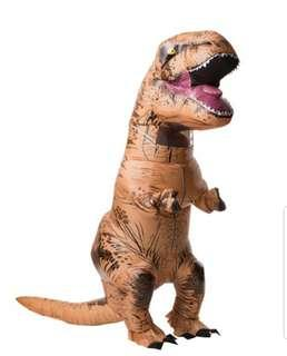 🚚 🔥FOR RENT🔥Inflatable Dinosaur Costume