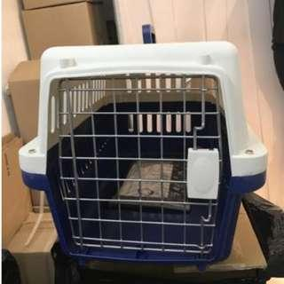 Pet carrier travel cage for cat dog size M