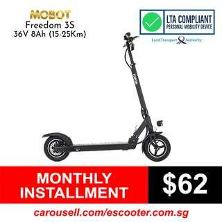 Mobot Freedom 3S 8Ah Electric Scooter