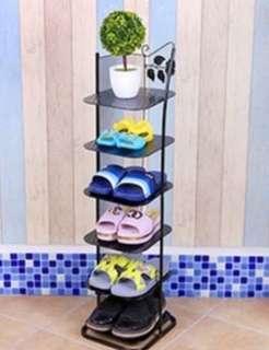 Sleek Design 6 Tier Shoe Rack Space Save