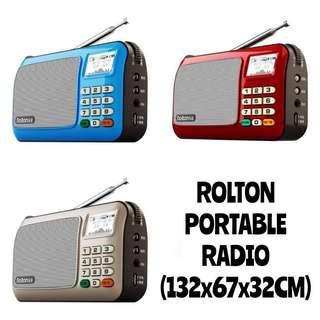 【INSTOCKS!】Rolton Portable Radio Model-W505 [User manual in Chinese only]