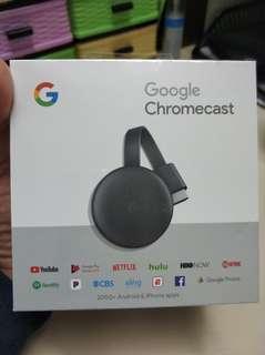ORIGINAL Google Chromecast 3rd Gen