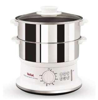 Tefal 2-tier stainless steel steamer VC1451