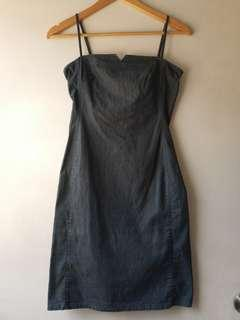 Pre-loved Denim Bodycon Dress