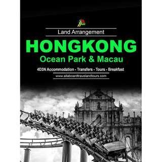 Hong Kong with Ocean Park and Macau Land Arrangement