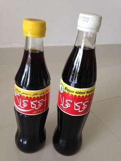🚚 1996 Emirates (United Arab Emirates UAE) Coca Cola Clear Glass Bottles 355ml and 400ml Coke (you pick one)