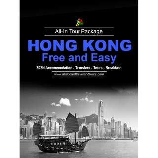 Hong Kong Free and Easy All In Tour