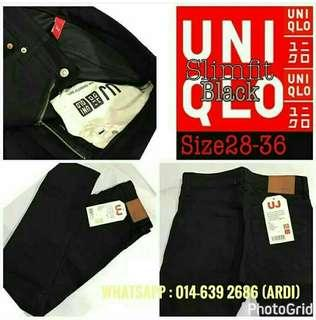 Jeans Uniqlo Black