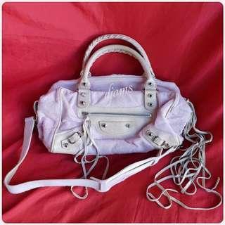✔Balenciaga City Box Pony Hair Bag