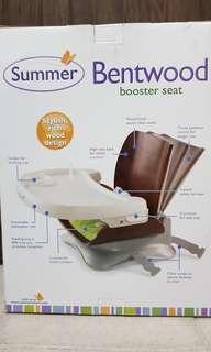 🚚 BNIB Summer Infant Bentwood Booster Seat