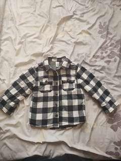 🚚 兒童舖棉襯衫外套