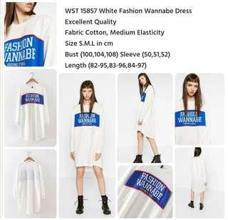 White wannabe dress