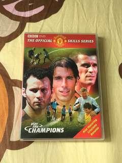 曼聯球員技術教學 Play Like Champions DVD 3區碼 中文字幕