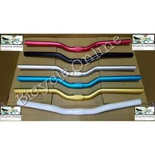 Aluminum Bicycle Handlebars for Road Bikes ☆ Striking Sporty Colours! ✩ Brand New