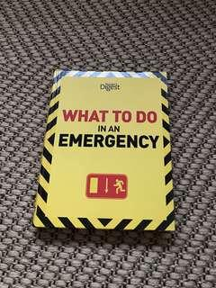 What to do in an emergency - reader's digest