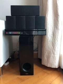 LG Home Theatre 3D Blue Ray BH6230