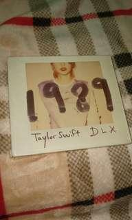 CD Taylor Swift 1989 D.L.X.