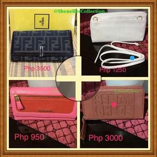Original Preloved/Unused Branded Wallets