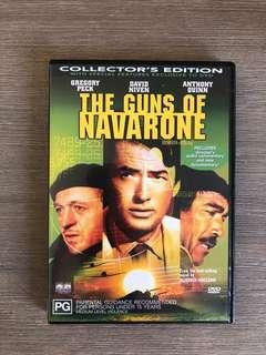 The Guns Of Navarone DVD starring Gregory Peck