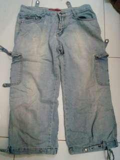 Celana blue light jeans