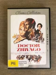 Doctor Zhivago DVD starring Julie Christie