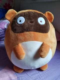 100%全新可愛狸貓 M size