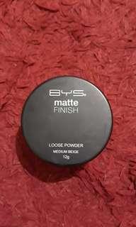 Loose powder BYS matte finish