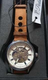Jam Tangan Parlent Wood Automatic