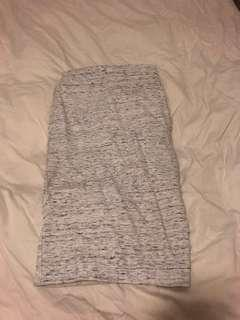 Wilfred grey white lis skirt in XS