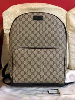 Gucci GG Supreme Backpack Latge
