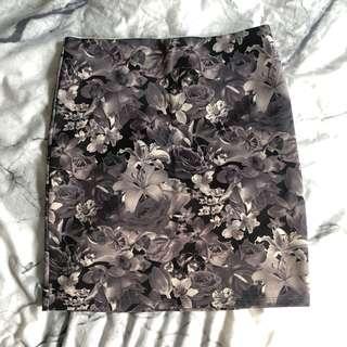 Dotti Floral Mini Skirt