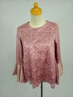 Dusty pink baju undangan
