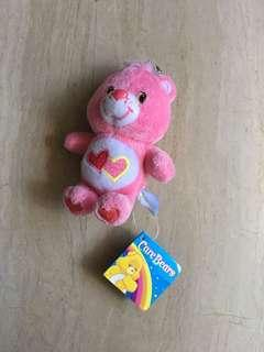 Care bear pink keychain (authentic)