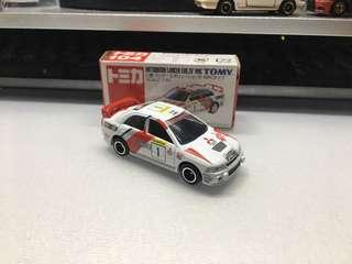 Tomica tomy Mitsubishi Lancer Evolution IV
