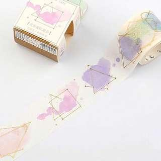 🚚 [INSTOCKS] constellations gold foiled washi tape
