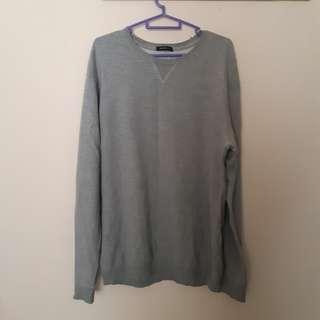 Oversized Sweater Light Grey #MFEB20