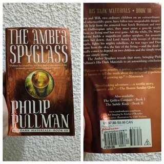 The Amber Spyglass by the Philip Pullman - book 3 Golden Compass