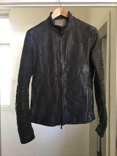 義大利Layer-0重磅馬皮外套(48)