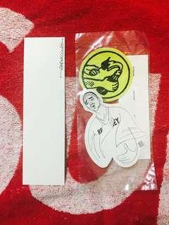 "Supreme ""Fuck The World"" Sticker Pack"