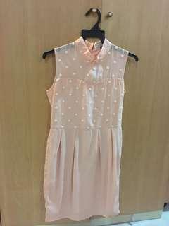 Cheongsam Collar Dress