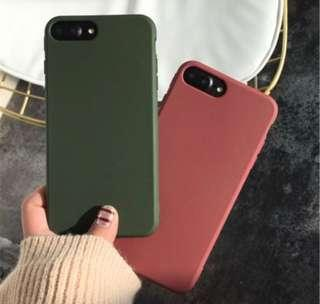 🚚 Solid matte colour phone case (po)