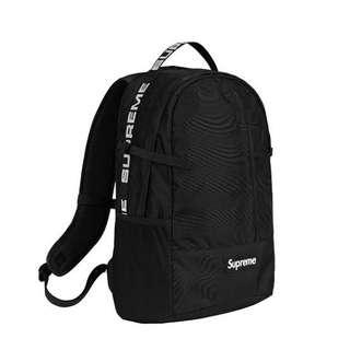 a19394b73d35 Supreme Backpack (SS18) Black