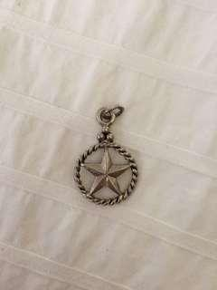 Star necklace pendant
