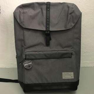 HEX Laptop Backpack - Grey Large Laptop bag. Brand new.